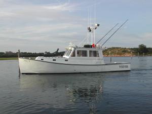 36' lobster boat